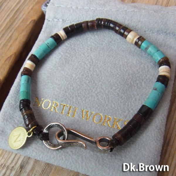 画像3: North Works Nickel 10¢ Hook Heishi Bracelet ノースワークスニッケル10セントフックヘイシブレスレット