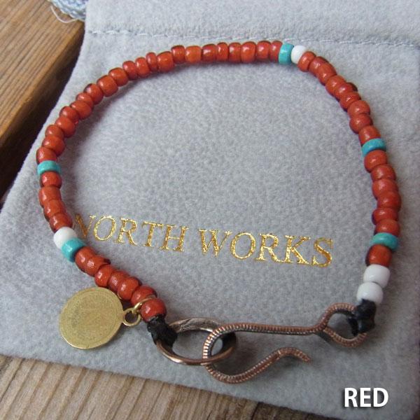 画像3: North Works Nickel 10¢Hook Beads Bracelet ノースワークスニッケル10セントフックビーズブレスレット
