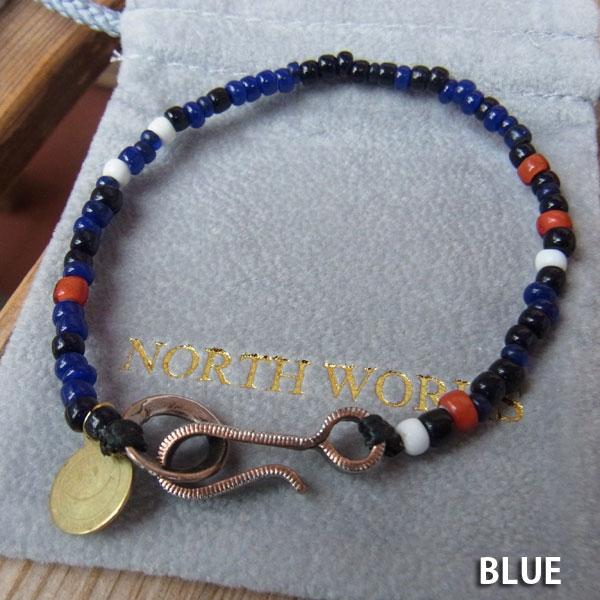 画像4: North Works Nickel 10¢Hook Beads Bracelet ノースワークスニッケル10セントフックビーズブレスレット