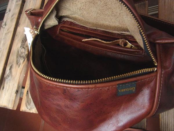 画像2: VANSON New fanny pack Octagon バンソンニューファニーパック オクタゴン