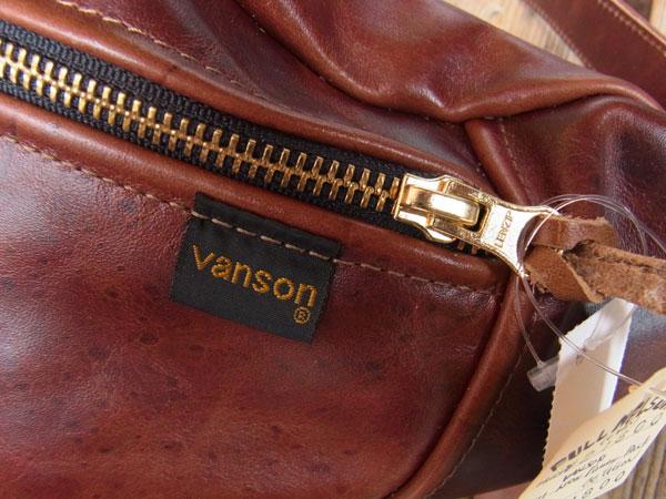 画像3: VANSON New fanny pack Octagon バンソンニューファニーパック オクタゴン