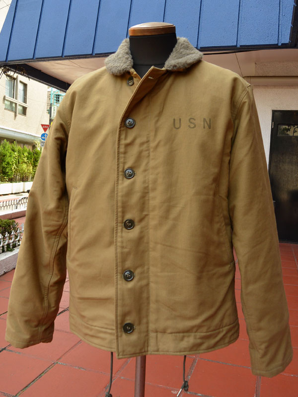 画像1: BUZZRICKSONS Type N-1 DECK JACKET NAVY DEPARTMENT 40's MODEL バズリクソンズ N-1デッキジャケット BR12031