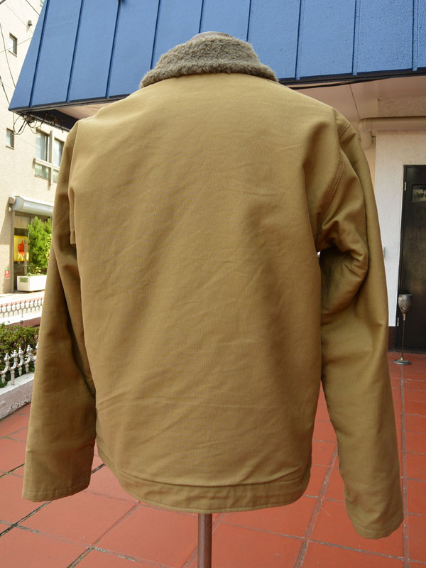画像2: BUZZRICKSONS Type N-1 DECK JACKET NAVY DEPARTMENT 40's MODEL バズリクソンズ N-1デッキジャケット BR12031