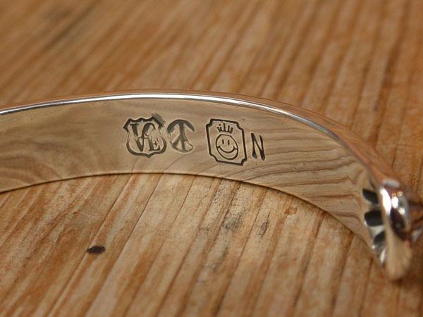 画像4: North Works Stamped 900Silver Cuff Bracelet ノースワークススタンプ900シルバーカフブレスレット