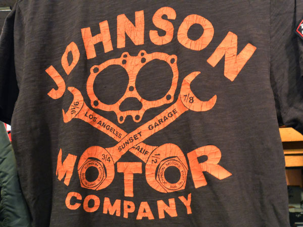 画像3: Johnson Motors'Inc GASKET COMPANY S/S tee  ジョンソンモータース 半袖Tシャツ BLACK TAR