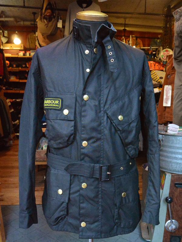 画像1: バブアーインターナショナルジャケット BARBOUR INTERNATIONAL JACKET BLACK