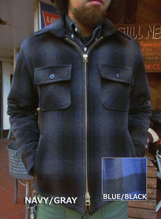 画像1: FULLNELSONフルネルソンオリジナル ウールジャケットカリフォルニア「JKT California」 裏ボア仕様