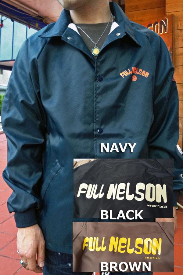 画像1: FULLNELSON ORIGINAL LOGO COACH JACKET フルネルソンオリジナル ロゴコーチジャケット