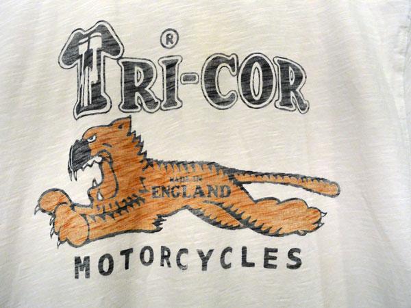 画像4:  Johnson Motors'Inc TRICOR S/S tee ジョンソンモータース半袖Tシャツ OPTIC WHITE