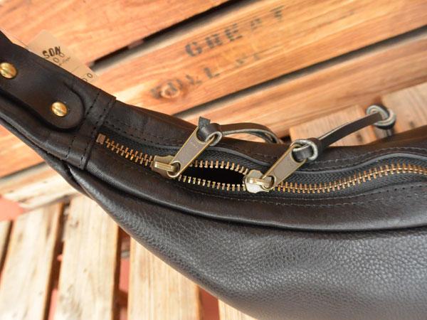 画像4: FULLNELSON Leather Banana Bag Small フルネルソン別注 BagBlow レザーバナナショルダーバッグスモール