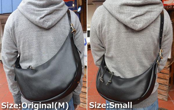 画像5: FULLNELSON Leather Banana Bag Small フルネルソン別注 BagBlow レザーバナナショルダーバッグスモール