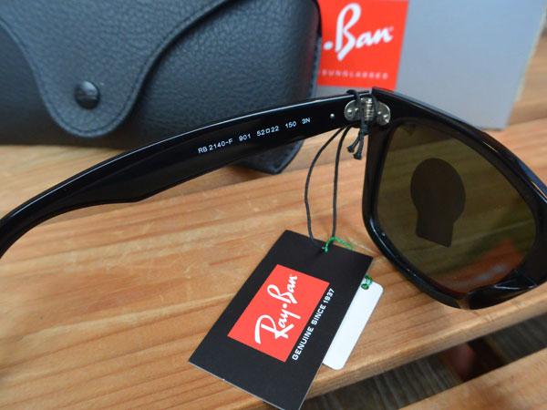 画像4: Ray-Ban ORIGINAL WAYFARER CLASSIC レイバン ウェイファーラー RB2140F BLACK
