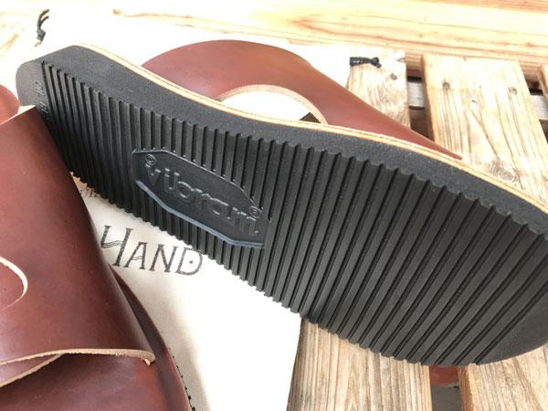 画像5: LEFT HAND W-STRAP LEATHER SANDAL レフトハンドレザーサンダルホーウィンクロムエクセル ティンバー