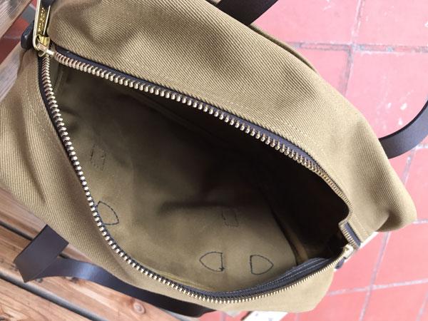 画像3: FILSON Tote Bag With Zipper フィルソン ジッパー付きトートバッグ