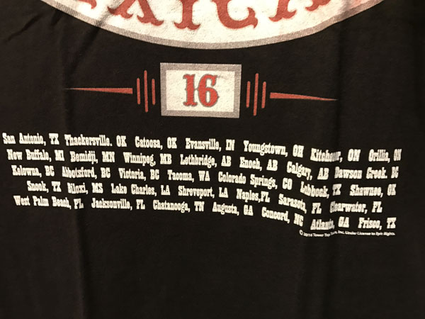 画像4: ZZ TOP 半袖Teeシャツ TEXICALI BLACK
