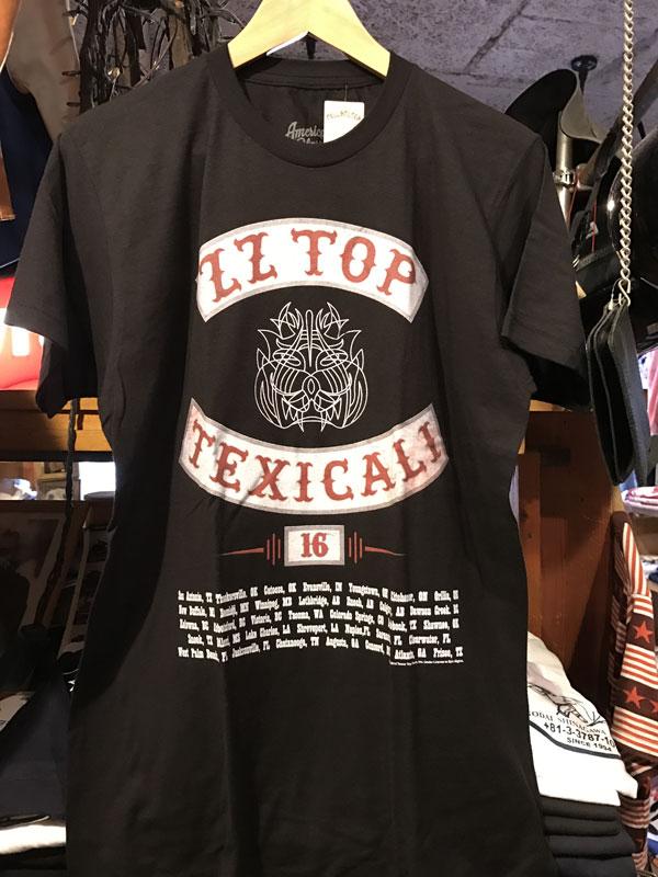 画像1: ZZ TOP 半袖Teeシャツ TEXICALI BLACK