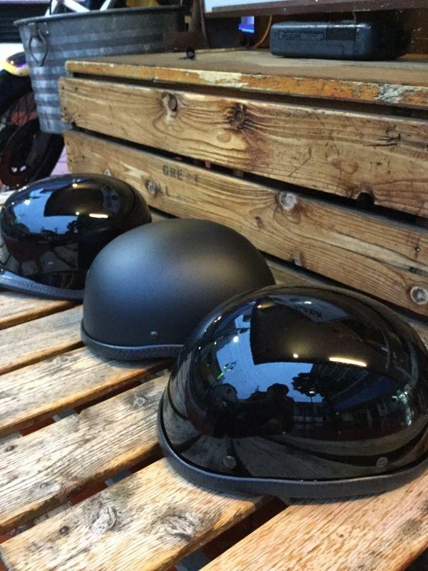 画像1: Hot leather バイカーCap