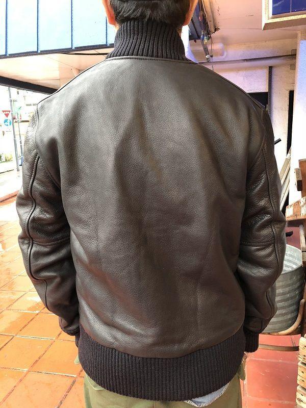 画像2: ALL LeatherSkookum スタジャンタイプ