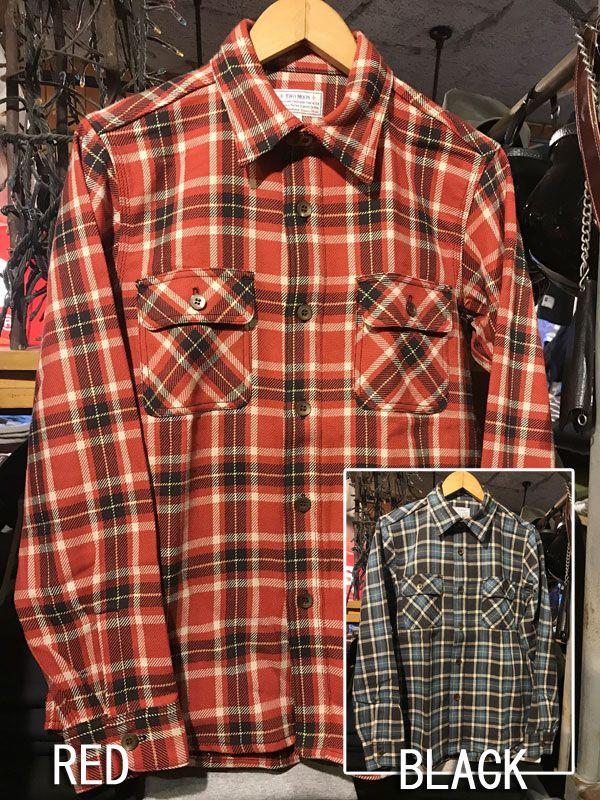 画像1: TWO MOON Flannel Shirts トゥームーン フランネルシャツ 720