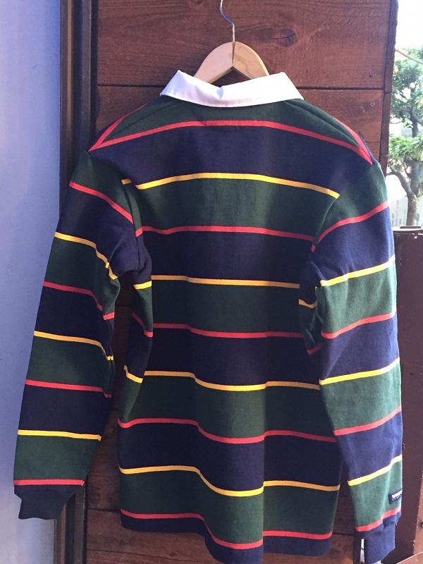 画像2: バーバリアン ラガーシャツ BARBARIAN RUGBY WEAR Navy/Gold/Green