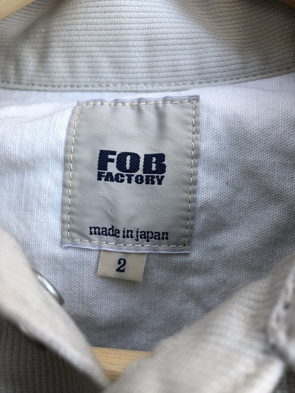 画像3: FOB FACTORY Pique 2'nd Jacket