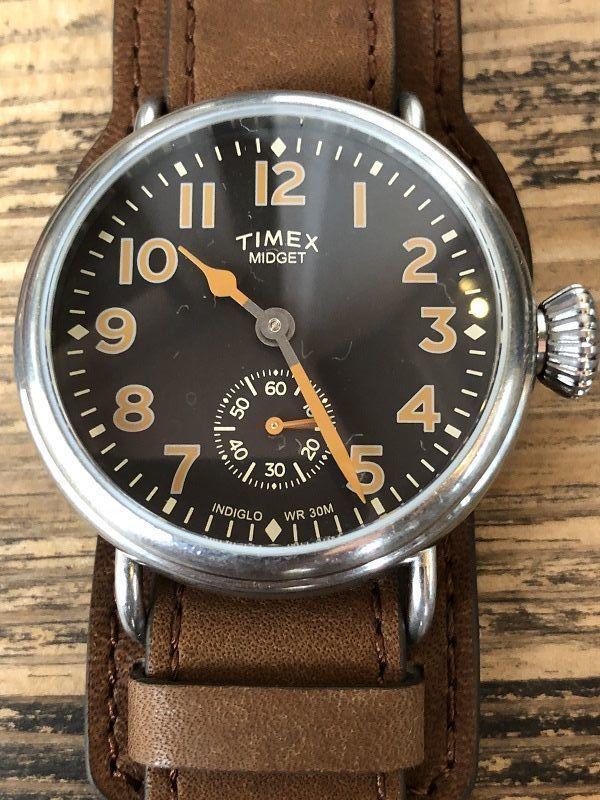 画像3: TIMEX REDWINGレザー限定腕時計