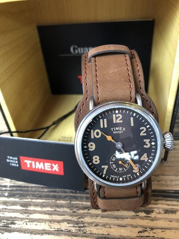 画像1: TIMEX REDWINGレザー限定腕時計