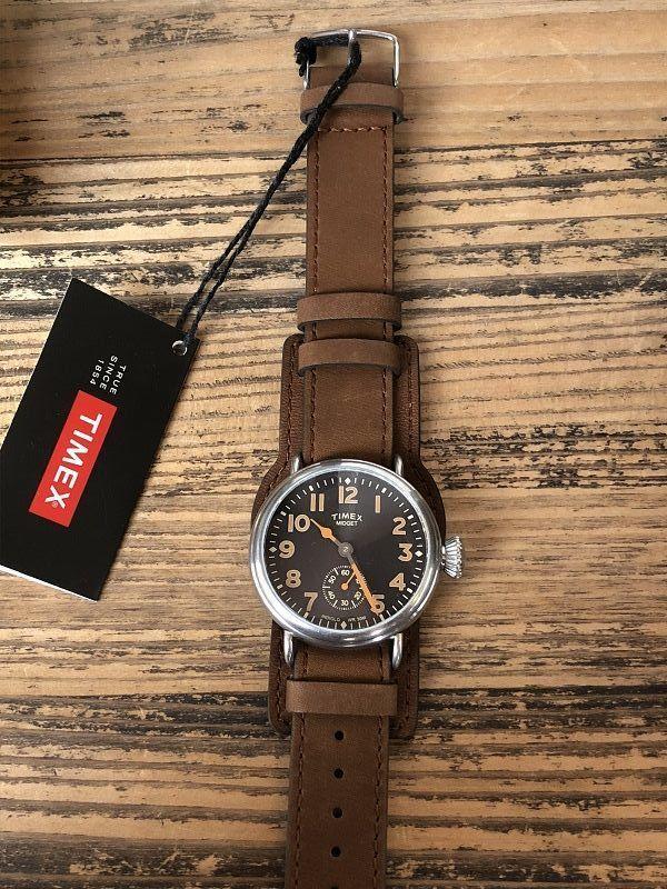 画像2: TIMEX REDWINGレザー限定腕時計