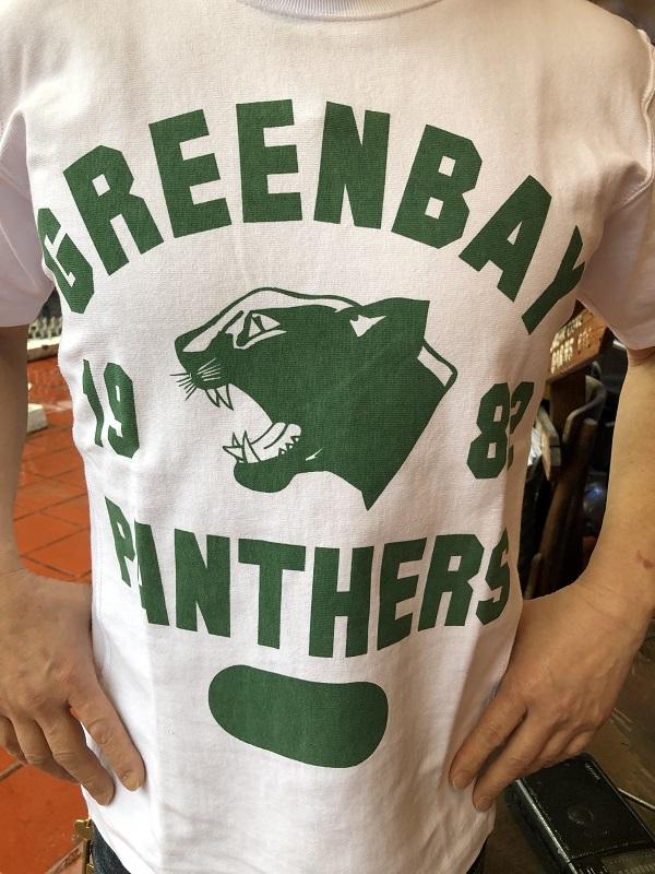 画像2: BUDDY別注 Champion リバースウィーブTシャツ 1982 GREEN BAY PANTHERS