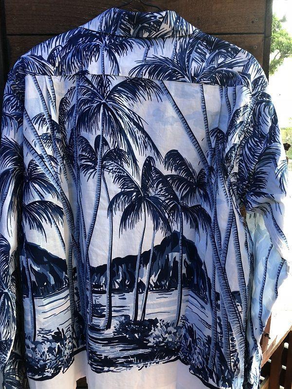 画像2: Duke Kahanamoku 長袖コットンアロハシャツ