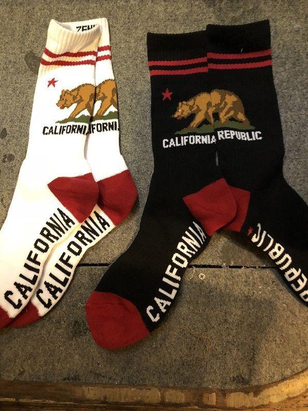画像3: ZENITH CALIFORNIA REPUBLIC SOCKS カリフォルニアフラッグソックス