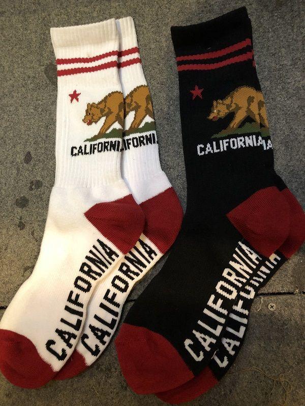 画像2: ZENITH CALIFORNIA REPUBLIC SOCKS カリフォルニアフラッグソックス