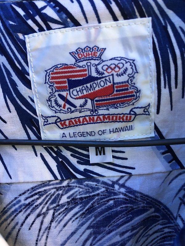画像3: Duke Kahanamoku 長袖コットンアロハシャツ