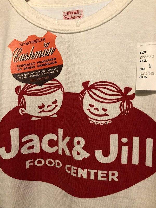 画像2: CUSHMAN RECYCLE COTTON TEE (JACK&JILL)