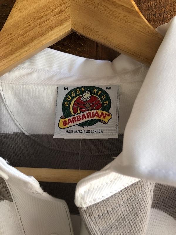 画像2: BARBARIAN 半袖ボーダーラグビーシャツ