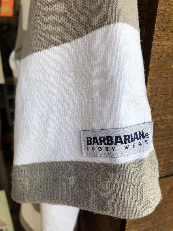 画像4: BARBARIAN 半袖ボーダーラグビーシャツ