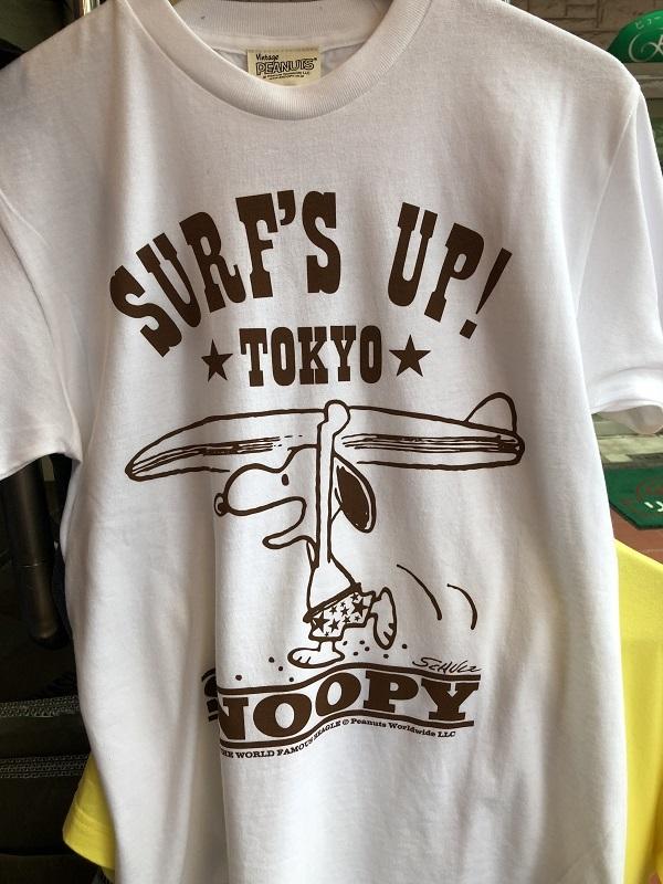 画像4: buddy×PEANUTS Tee バディー×ピーナッツ スヌーピーTシャツ SURF's UP!★TOKYO★