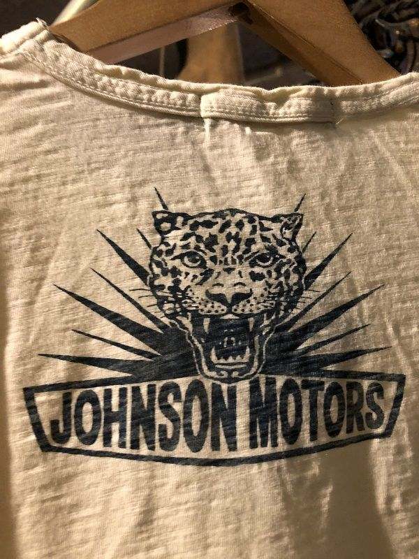 画像4: Johnson Motors'Inc SILVERLAKE CAT S/S tee ジョンソンモータース半袖Tシャツ DIRTY WHITE