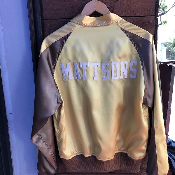 画像3: MATTSONS' OF HOLLYWOOD / SATIN SPORTS JKT マットソンズオブハリウッド サテンスポーツジャケット