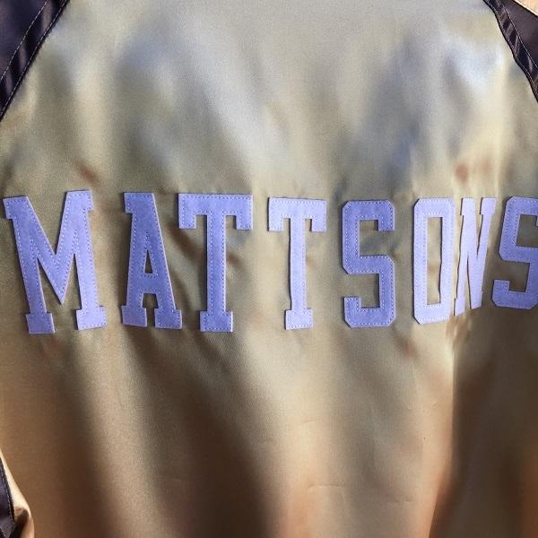 画像4: MATTSONS' OF HOLLYWOOD / SATIN SPORTS JKT マットソンズオブハリウッド サテンスポーツジャケット