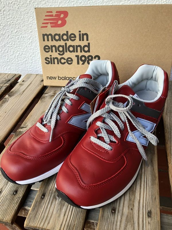 画像1: new balance M576UK SP14 RED ニューバランス MADE IN UK