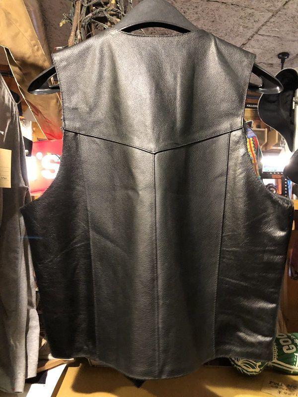 画像2: Hot leather バイカーズレザーベスト