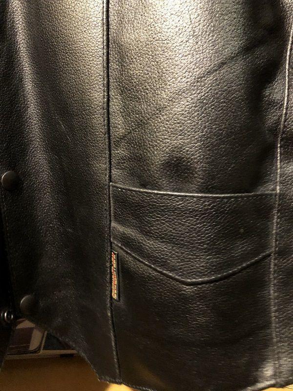 画像3: Hot leather バイカーズレザーベスト