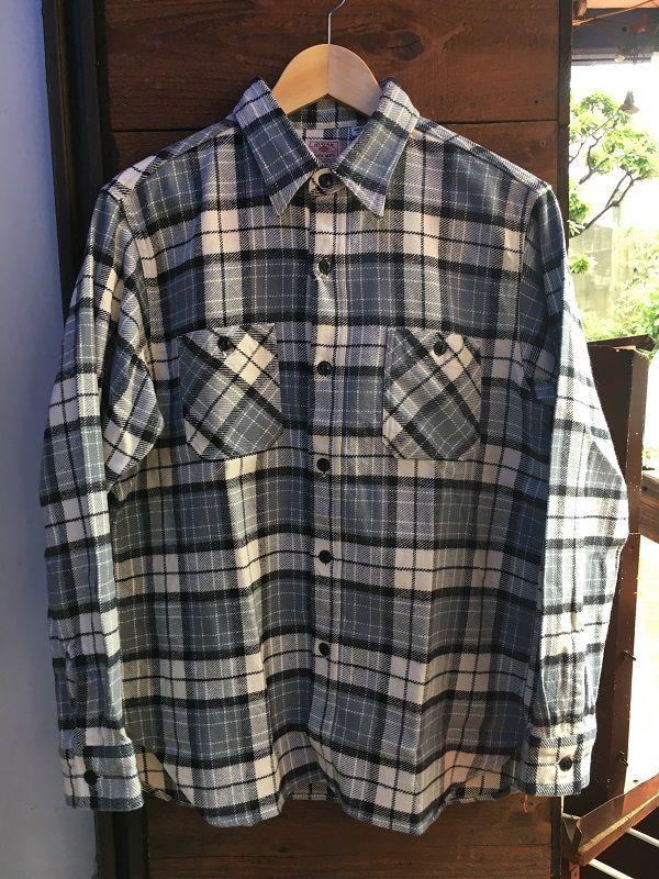 画像1: sugarcane 長袖ワークシャツ シュガーケーン