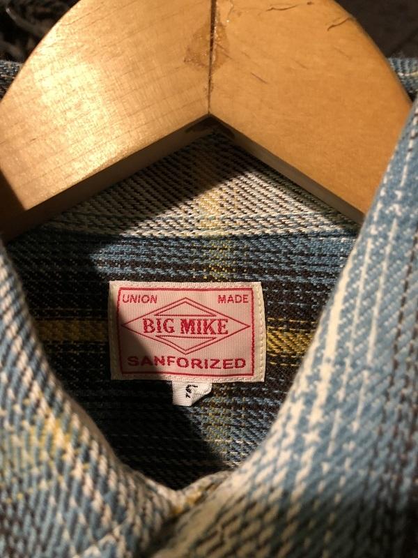 画像2: BIGMIKE HEAVY FLANNEL SHIRTS BLUE