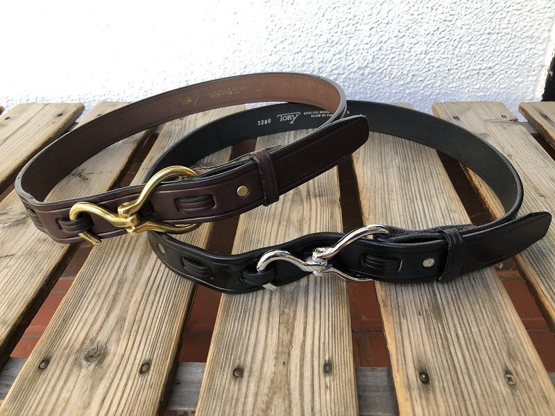 画像1: TORY Leather フックベルト