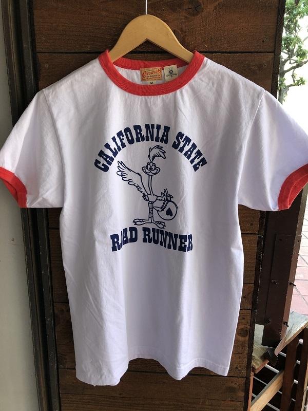 画像1: CHESWICK ロードランナー リンガーTシャツ