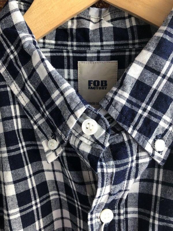 画像2: FOB FACTORY B.Dチェックシャツ