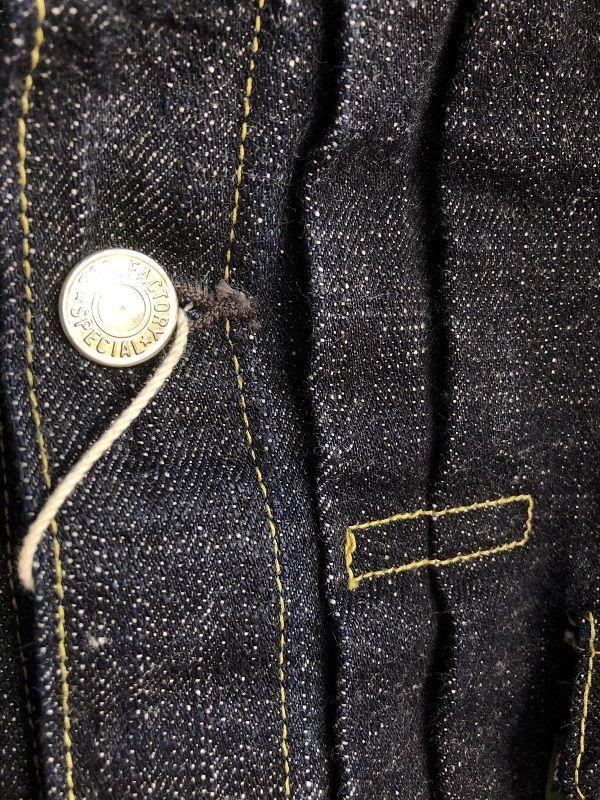 画像3: FOB FACTORY SEVEDGE DENIM 2nd Jacket