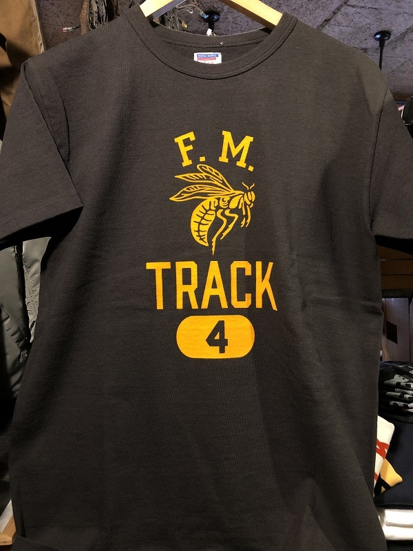画像1: DUBBLE WARKS HEAVY WEIGHT PRINTED T-SHIRTS F.M.TRACK